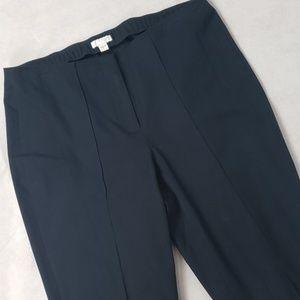 J. JILL navy career crop pants size 8